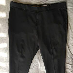 Perry Ellis Black dress pants size 42. Slim fit